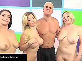 orgy porn - US Porn Star Maggie Green Has a Way Orgy W Noelle Easton!