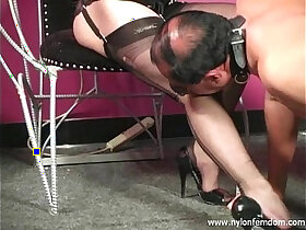 mistress porn - Nylon Mistress Whipping