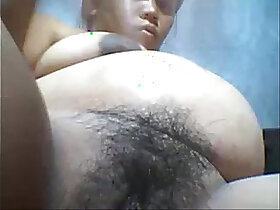 asian porn - sexy pregnant asian pinay crushes belly