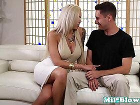 big tits porn - Pornstar Nina Elle fucks cock between bigtits
