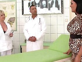 3some porn - Hospital threesome SEX
