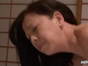 asian porn - Mature Woman Getting Her Pussy Licked Fingered Sucking Guy On The Mattress In Th