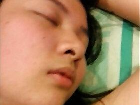 amateur porn - Sleeping asian slut