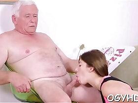 banged porn - Old crock bangs juvenile crumpet