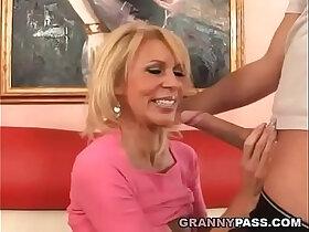 busty porn - Busty Cougar Fucks Big Young Dick