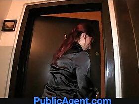 agent porn - PublicAgent This sexy estate agent is a porn loving sex kitten.