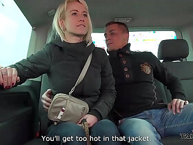 busty porn - Cheating busty wife sucks and fucks stranger in traffic Mea Melone record it