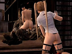 3d porn - Anime Marie Rose fucked by monsters from Dead or alive