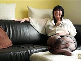 interview porn - Hot Milf Slut Andi Interview Before Fucking