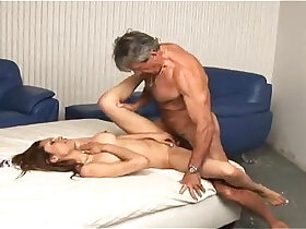 daddy porn - Daddy enjoying with her young girl
