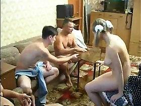 cum porn - EVERYBODY FUCKS EACH OTHER, CUMS TOGETHER