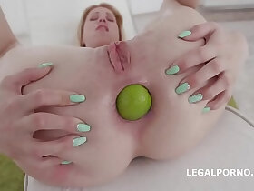 ass porn - Insanity! Monika Wild gets her asshole fucked to Prolapse!