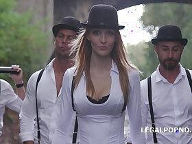 ass porn - A Clockwork Gang Pilot The extreme Kira Thorn gangbang