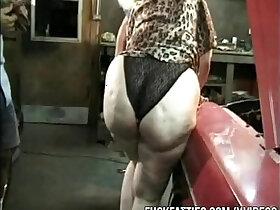 amazing porn - Mechanics Gangbangs Blonde BBW