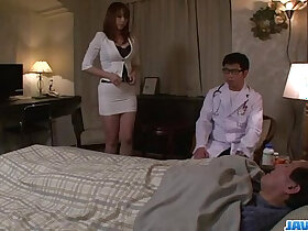 busty porn - Araki Hitomi busty milf craves for a hard fuck