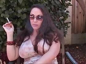 dirty porn - Milf smoking masturbating and talking dirty