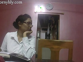 desi porn - Indian Sex Teacher Horny Lily Love Lesson