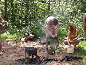 celebrity porn - Real college fucking by the lake scene