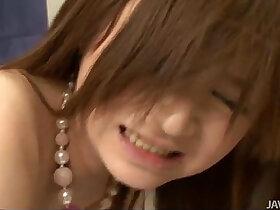 cock porn - Sweet Rui Yazawa in her school uniform sucks hard rigid cock