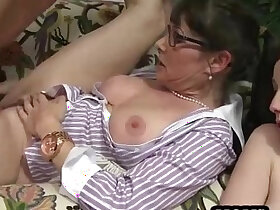 Mature women showing their aging bodies and fucking
