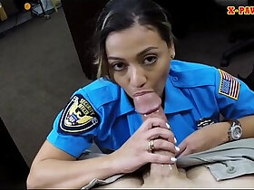 horny porn - Ms police officer stuffed by horny pawn man to earn money