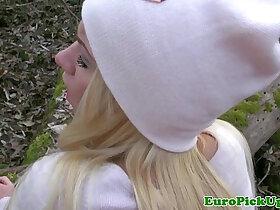 blonde porn - Pulled blonde outdoor fuck
