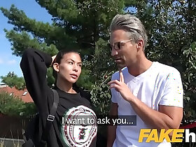 agent porn - Public Agent Facial and hard public fucking for cheating American babe