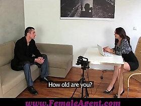 agent porn - FemaleAgent Czech gigolo tests her skills