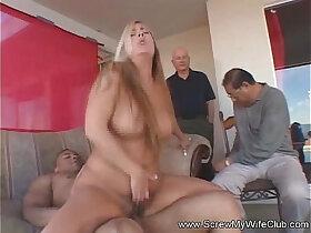 milf porn - Spanish MILF Swinger Finds Stranger Sex