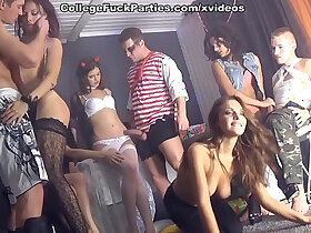 celebrity porn - Wild student sex friends party on Friday scene