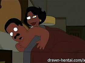 animation porn - Cleveland Show hentai Night of fun Donna