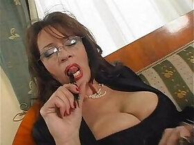 busty porn - mature busty secretary sex