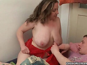 doctor porn - Granny says an orgasm a day keeps the doctor away