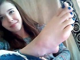 foot porn - Dag yo self foot worship