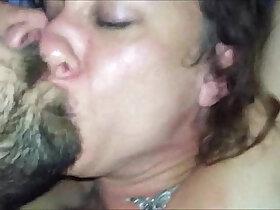 brunette porn - Brunette MILF POV deepthroat