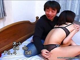 asian porn - Lovely Asian chick felt out