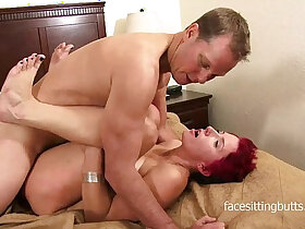 cock porn - Stupid cougar slut is good only at pleasing cocks
