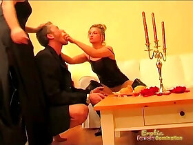 goddess porn - Goddess Mistresses Get Naughty In Front Of Their Slave