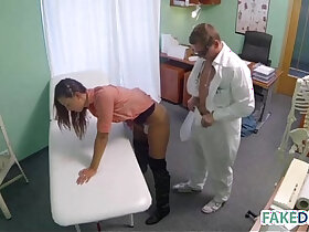bride porn - Married woman in a fake hospital