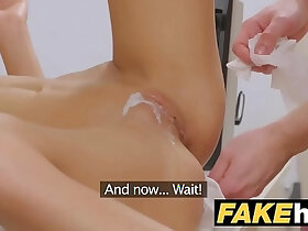 agent porn - Female Agent Sexy agent gets licked to orgasm after fucking technician