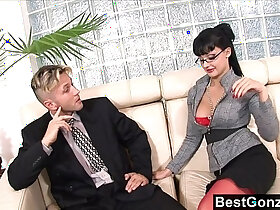 ass porn - Secretary uses her ass and her tallents to get a raise