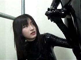 japanese porn - Japanese Latex Catsuit