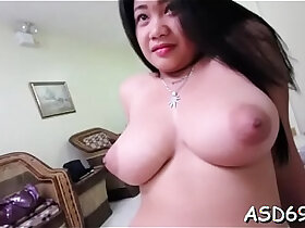 oriental porn - Fondling and fucking oriental fur pie