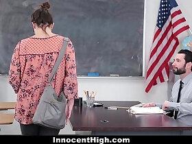 high school porn - InnocentHigh SchoolGirl Pretends Fucks Her Way Out Of Trouble