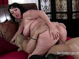 brunette porn - Chubby brunette MILF cant get enough cock