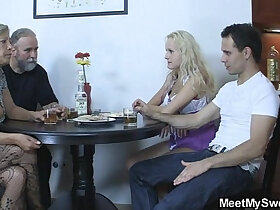 fuck porn - Perverted parents fuck their son