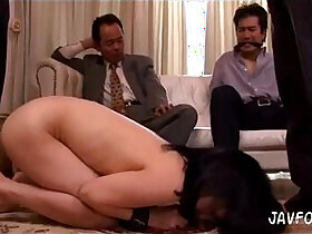 boss porn - Forced by her husbands boss. Full video