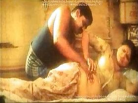 aunty porn - aunty oil massage