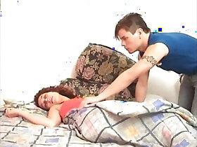 sleeping porn - lorena sleeping