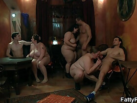 bitch porn - Fat bitch spreads legs for hard cock